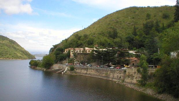 Dique San Roque in Villa Carlos Paz, Córdoba
