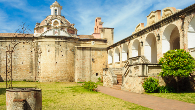 A Jesuit mansion in Alta Gracia, Cordoba, Argentina