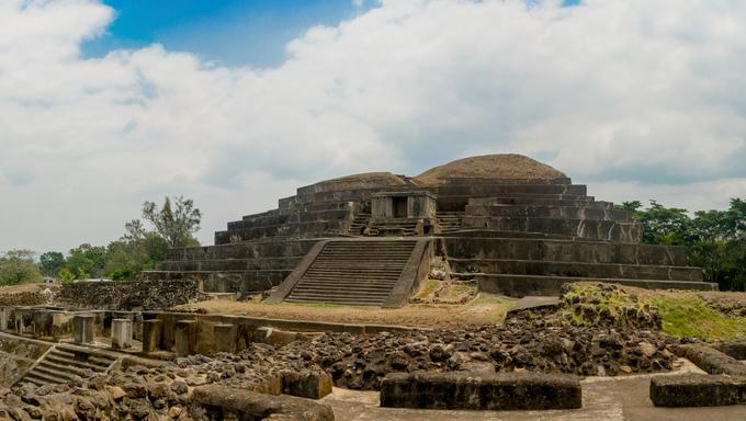 Tazumal mayan ruins in El Salvador