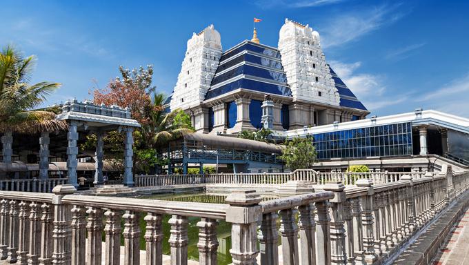 ISKCON (International Society for Krishna Consciousness) Temple in Bangalore