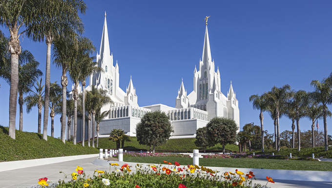 San Diego lds temple.