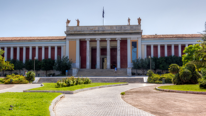 National Archaeological Museum in Athens, Greece.