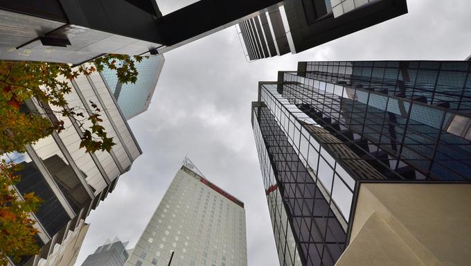 Australia, Sydney skyscrapers.