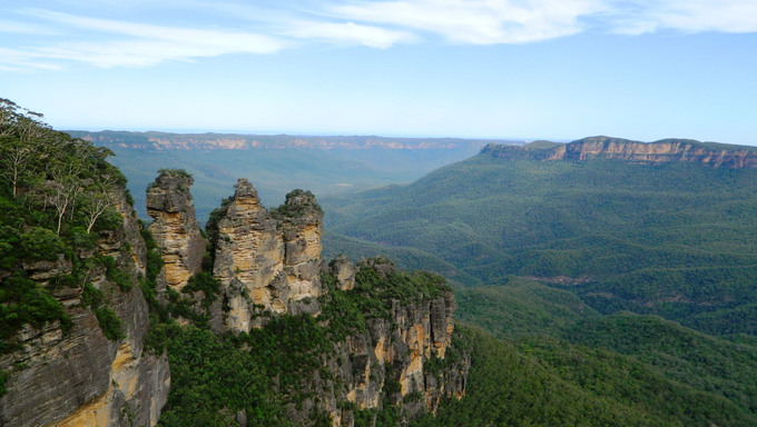Three Sisters, Blue Mountains in Australia.