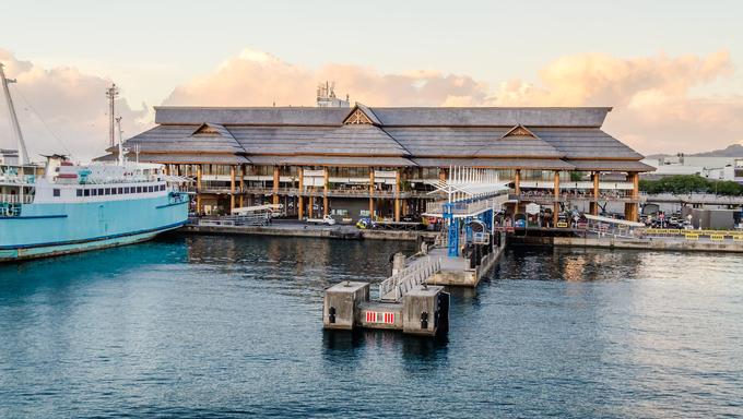 Port of Papeete, Tahiti, French Polynesia