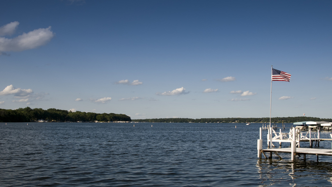 One of the many great Iowa lakes.