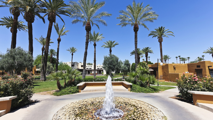 Litchfield Park, Arizona.The Wigwam resort is an Historic Hotel of America, very popular for vacationing, golfing and business conferences.