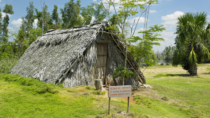 hut, Boca de GuamᬠMatanzas Province, Cuba