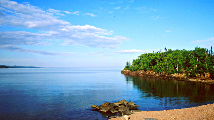 Artlist's Point in Grand Marais, MN.