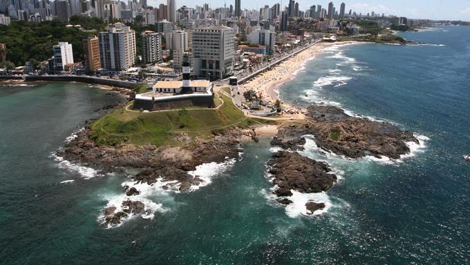 Imagens aéreas de Salvador - Roteiro da FIFA Na Foto: Fotos: Robson Mnendes / AGECOM