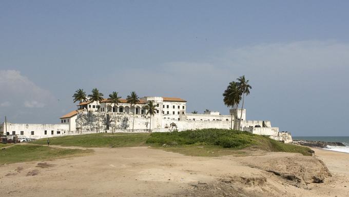 Elmina Castle in Ghana, Africa.