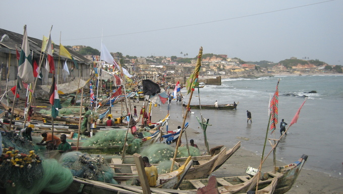 Another shot of Cape Coast.