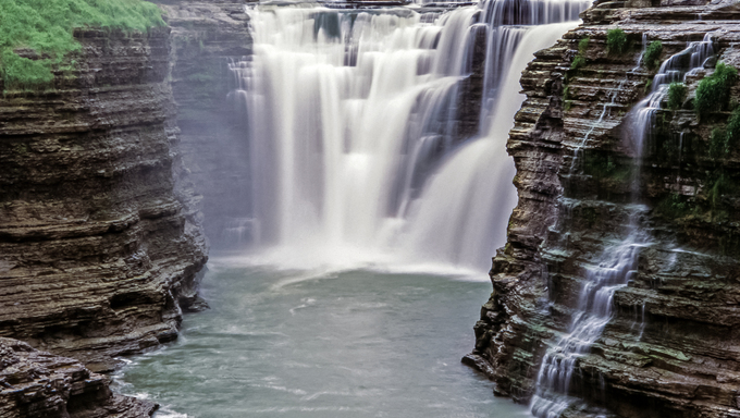 Letchworth State Park is a New York state park located 35 miles southwest of Rochester.