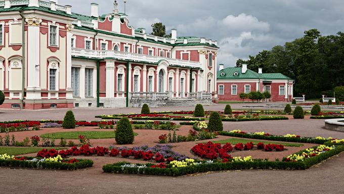 Palace in Kadriorg garden, Tallinn, Estonia