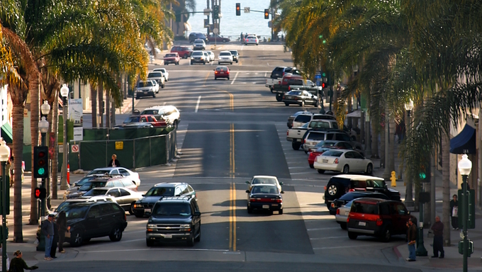 California street is one of the main streets in Ventura California.