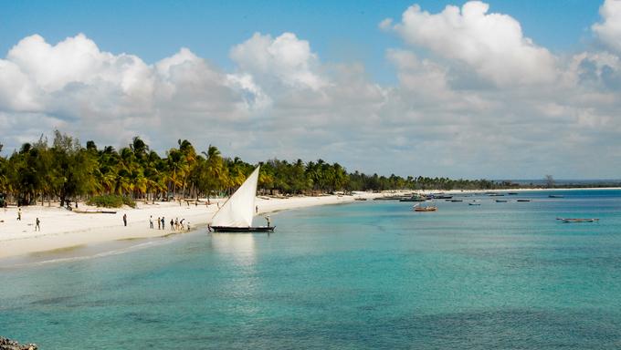 Pangane Beach, Mozambique.