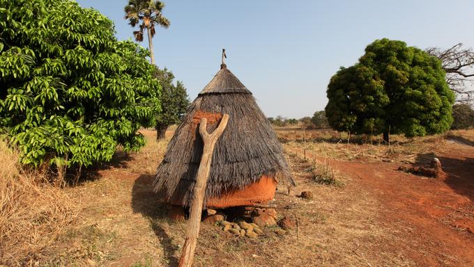 Betammaribe, granary, Benin.