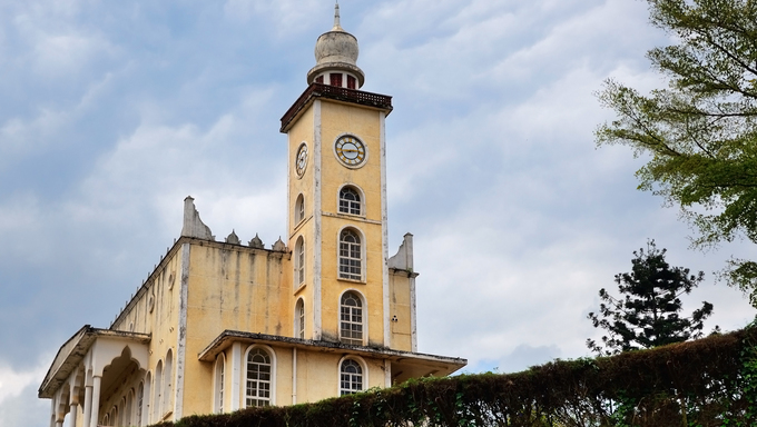 Cathedral in Fort Portal, a town in Western Uganda, Africa