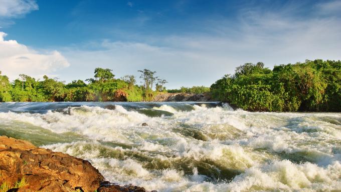 White Nile, Bujagali Falls, Uganda