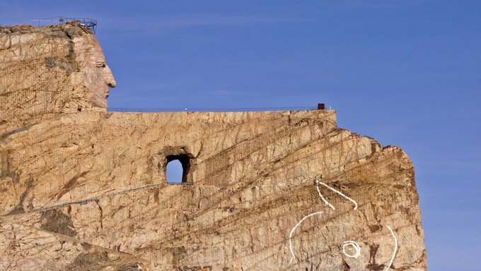 Crazy Horse Memorial, South Dakota.