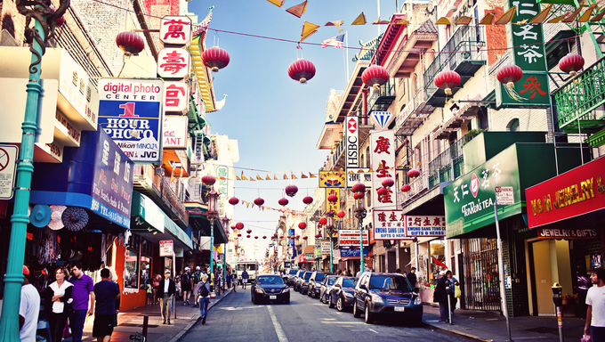Francisco's Chinatown is one of North America's largest Chinatowns. It is also the oldest Chinatown in the USA.