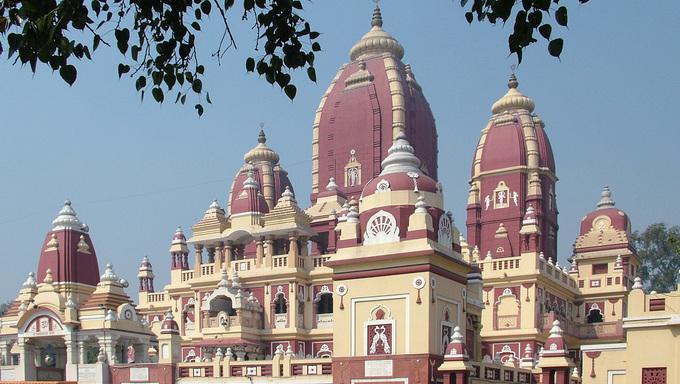 lakshmi narayan temple, new delhi, india