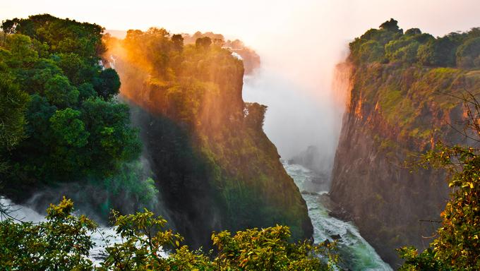 Victoria Falls at its finest.