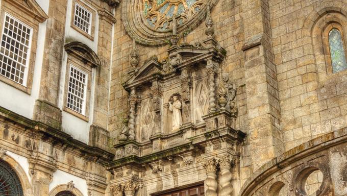 gothic church of Saint Francis Igreja de Sao Francisco Porto, Portugal