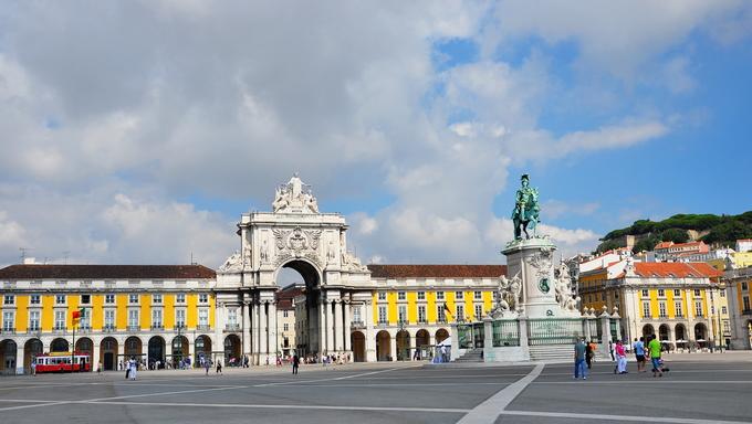 Portugal, Lisbon, City, History, landscape, clouds, clouds, nature