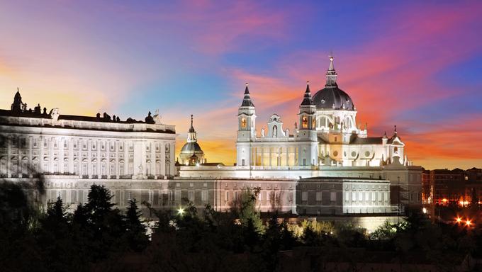 Spain, Madrid Cathedral Almudena