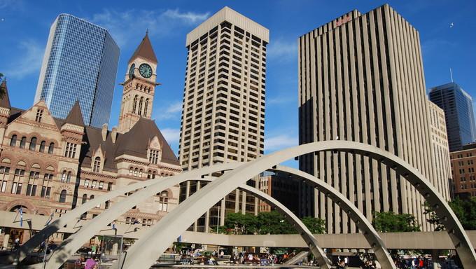 City Hall in Toronto.