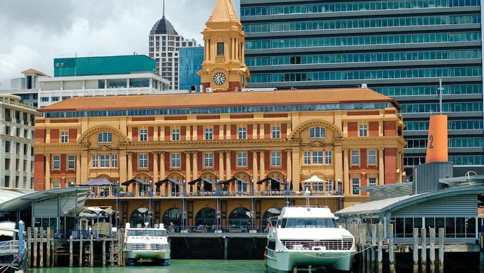 New Zealand, Auckland City Harbour.