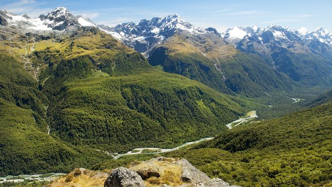 Fabulous scenery in New Zealand.