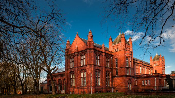 The Whitworth Art Gallery is an art gallery in Manchester, England, containing about 55,000 items in its collection.