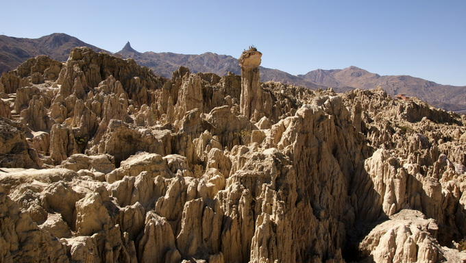 Some Prime Moon Valley located near La Paz.
