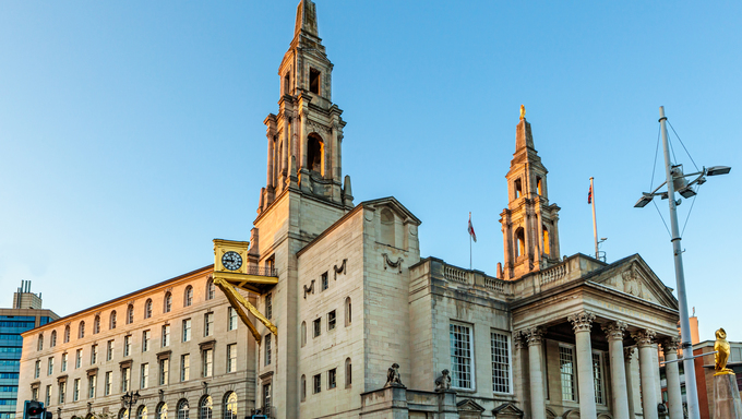 Leeds Civic Hall is a civic building housing Leeds City Council, located in Millennium Square, Leeds, West Yorkshire, England