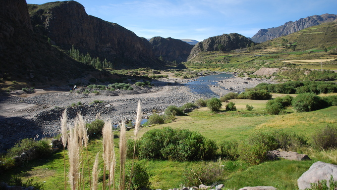 Arequipa, Chivay, and the Colca Canyon in Peru.