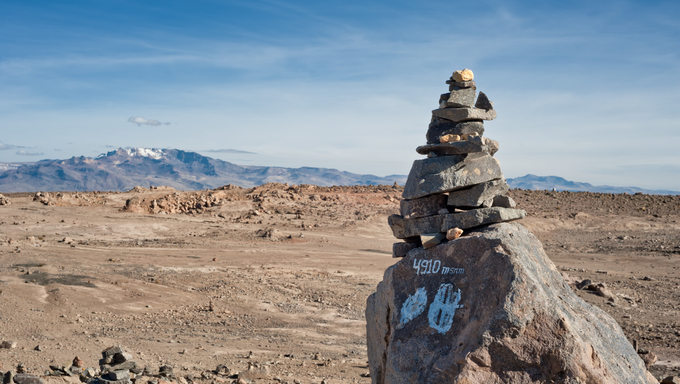 Arequipa to Chivay, Salinas and Aguada Blanca National Reservation.