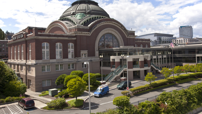 Union station and court house in Tacoma Washington.