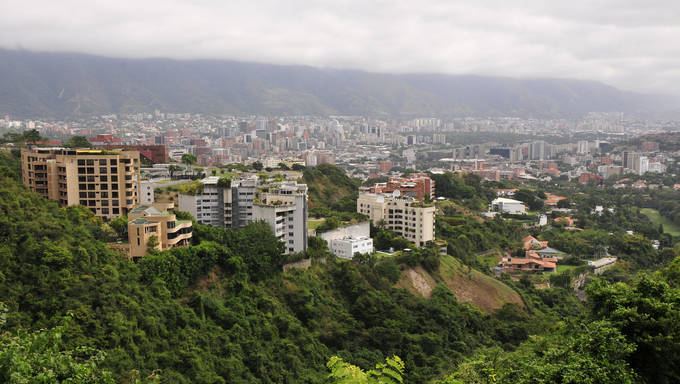 Viewpoint on Caracas city (Venezuela)