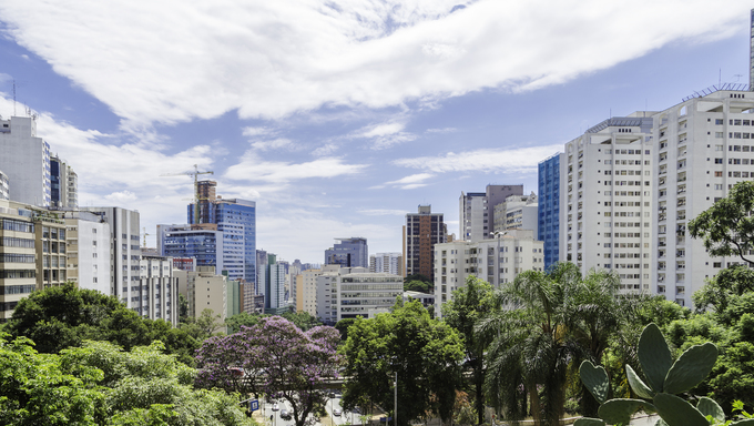 Sao Paulo city in Brazil.