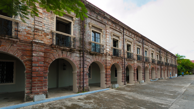 Holy Rosary Minor Seminary in Naga City, Philippines. The Seminary of Nueva Caceres that was founded in 1797 is the only remaining Spanish era seminary building in the Philippines.