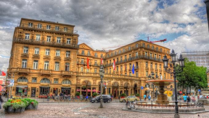 FRANKFURT, GERMANY - JUL 12: Steigenberger Frankfurter Hof