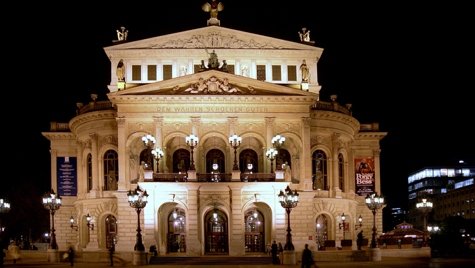 The Alte Oper in Frankfurt, Germany
