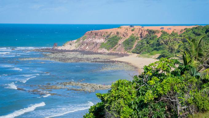 Praia da Pipa in Natal, Brazil.