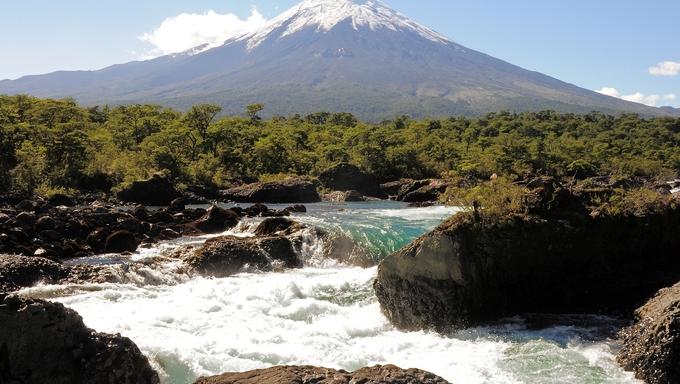 Osorno volcano in Chile.