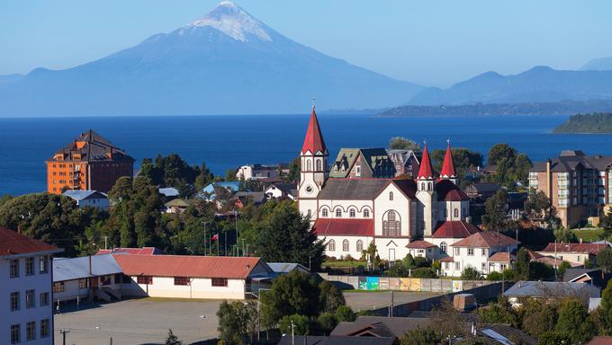 Puerto Varas, Patagonia, Chile. Near Osorno.