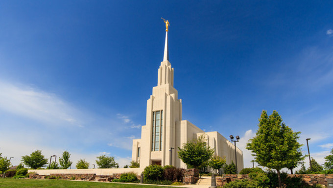 LDS Temple in Twin Falls.