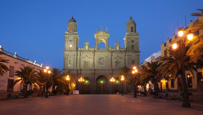 Santa Ana Cathedral in Las Palmas de Gran Canaria.