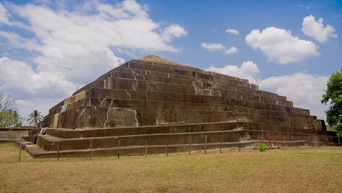 Tazumal Mayan Ruins in Santa Ana.